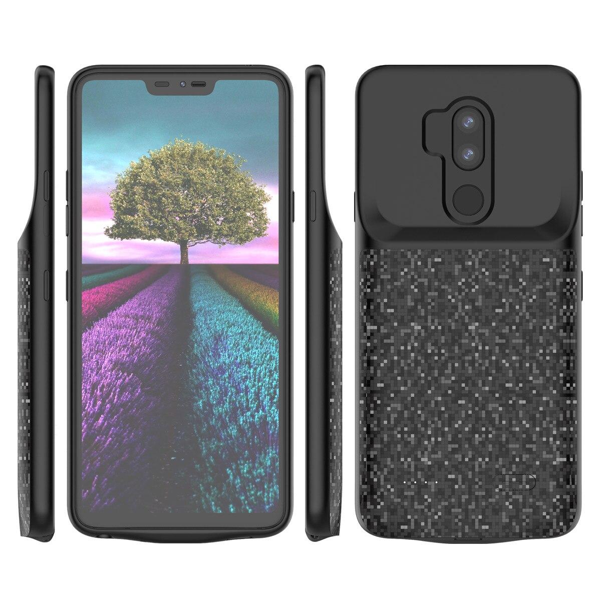 Para LG LG V40 G7 ThinQ LG V30 Telefone Caso Protetor Caso Carregador de Bateria Externa Backup Carregador Power Bank Carregamento caso de telefone