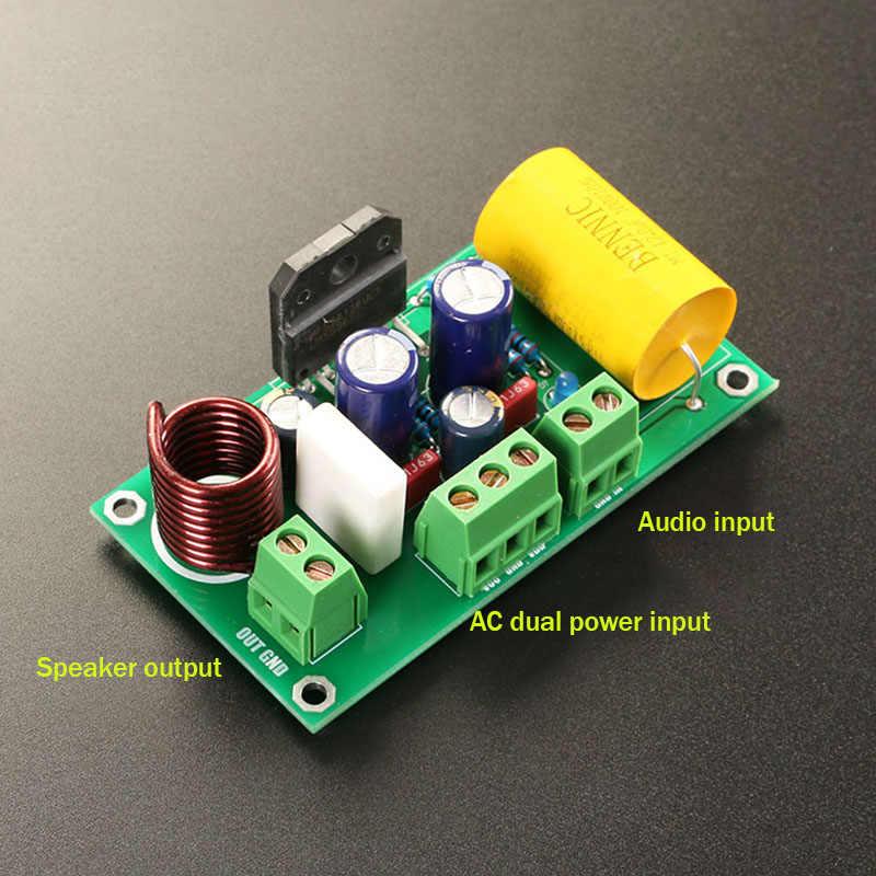 LM3886TF Mono carte amplificateur de puissance 60 W kit de bricolage parallèle Circuit classique dernière Version GC amplificateur audio