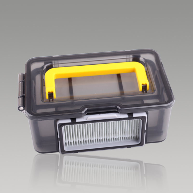 1 Pcs Dust Box Bin for Ecovacs Debea X500 Robot Vacuum Cleaner Parts Dust Box Replacement Filter Accessories