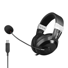 цена на Dianyin Over-Ear Headphone Game Headset USB Noise Cancelling Over-Ear Earphone with Microphone Stereo Bass for Computer