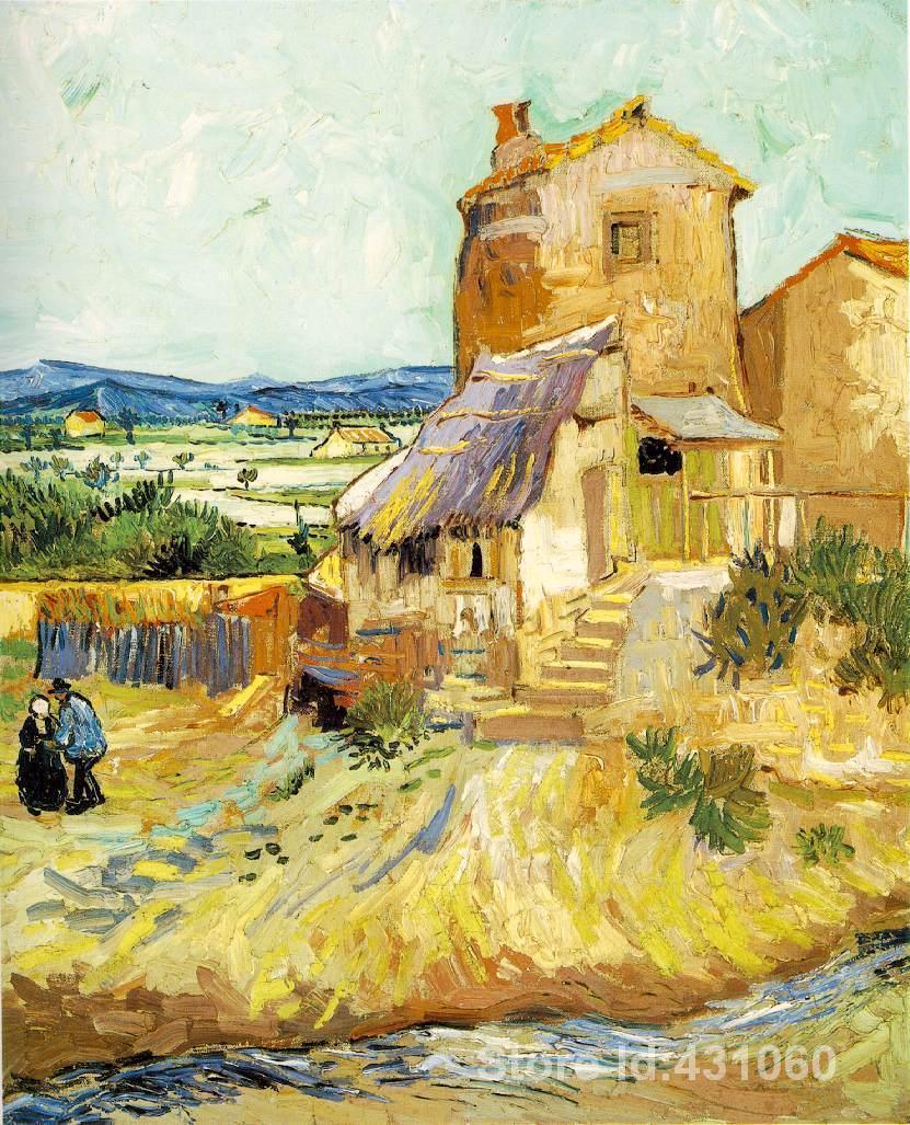 Resultado de imagem para O Velho Moinho van Gogh