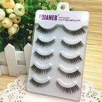 5 Pairs Fashion Women Beauty Tools Luxurious Fake Eyelashes Dense Long 3D Handmade Natural False Eyelashes Makeup Tool False Eyelashes