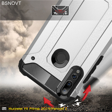 For Huawei Y9 Prime 2019 Case Hard PC Armor Anti-knock Phone Cover P Smart Z BSNOVT