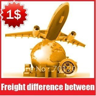 Freight difference between,Extra Fee,To $1 for the unit
