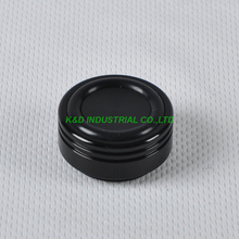 1pc 29X15mm Black aluminum HIFI feet pad Chassis for DIY Headphone Amplifier Speaker DCD CD Player
