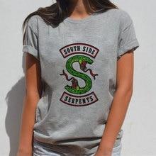 Kawaii Harajuku Snake Print Women Aesthetic Vintage Streetwear Clothes 2019 Summer Korean Ulzzang T Shirt