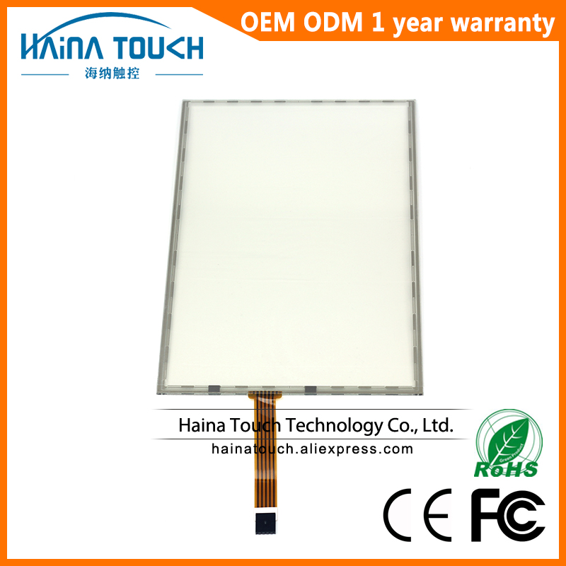 Win10 Compatible 5 wire 17 Inch Resistive USB Touch Screen Panel For Photo Kiosk Laptop Industrial