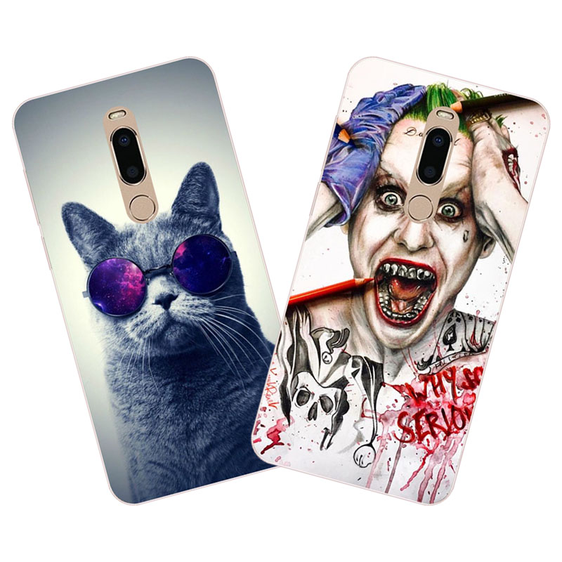 meizu m6t Case,Silicon Super cool cartoon Painting Soft TPU Back Cover for meizu m6t protect cases shell