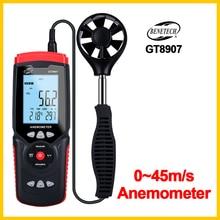 Anemometer Hand-Held-Tool Digital GT8907-BENETECH USB Temperature Precise Portable
