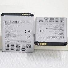 ISUNOO 2 шт./лот мобильного телефона Батарея BL-59UH для LG Optimus G2 мини D618 D620 D620R D620K D410 D315 F70 литиевые батареи телефона