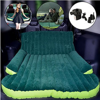 For SUV Car Inflatable Mattress Seat Travel Bed Air Mattress With Air Pump Outdoor For Camping