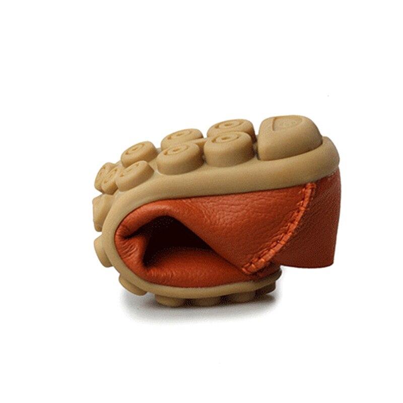Shoes Woman Plus Size 2018 Fashion Women Ballet Flats Ladies Shoes Genuine Leather Sneakers Tenis Feminino Casual Espadrilles
