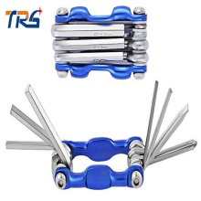New Wrench Set Folding Hex Key Bicycle Tool Combination Allen Repair Kit