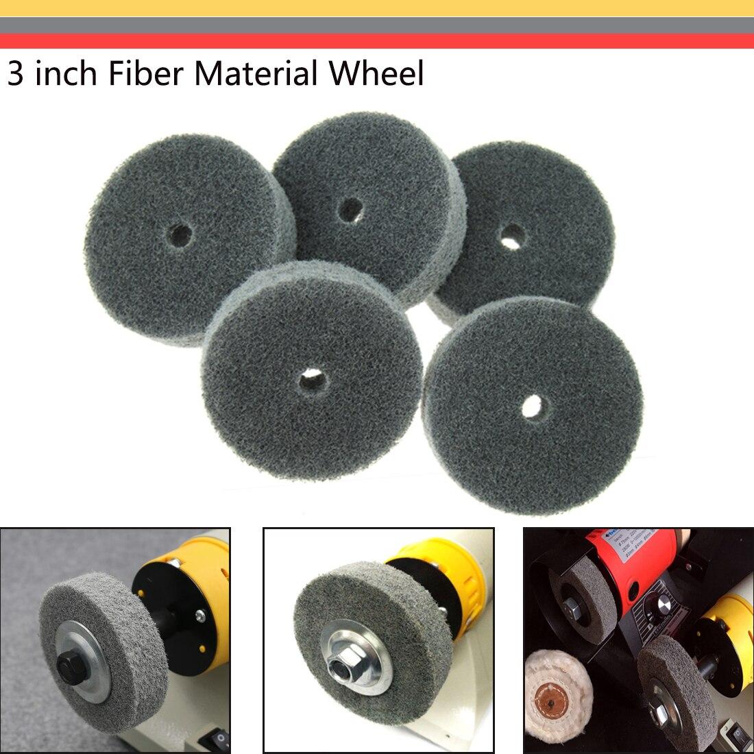 Instrument Grinding Iron Polishing Folding Knife Polishing Tool 75*19*10mm Nylon Wheel Fiber Wheel Durable Selected Products