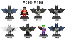 480pcs/lot 098-105 Batman Super Heroes Avengers Action Minifigures Figures Building Blocks