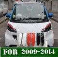 SIKALI SKL стайлинга автомобилей фары для бровей накладка на фару наклейки на веки Удлинитель Набор запасных частей для Smart Fortwo 2009-2014