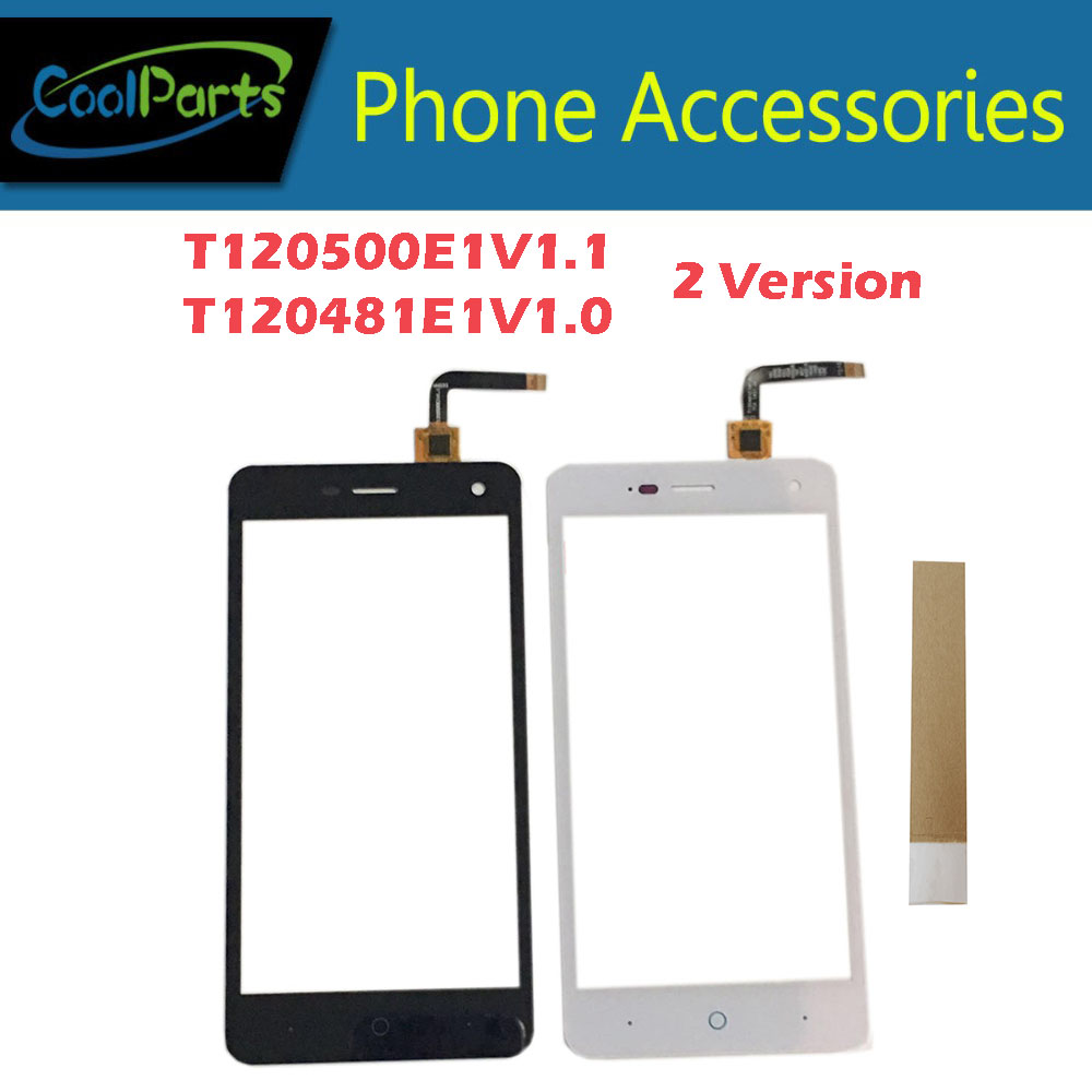 1PC/Lot 5.0For ZTE T120500E1V1.1 / T120481E1V1.0 Blade L3 Touch Screen Digitizer Panel Glass With Tape Black White Color 1PC/Lot 5.0For ZTE T120500E1V1.1 / T120481E1V1.0 Blade L3 Touch Screen Digitizer Panel Glass With Tape Black White Color