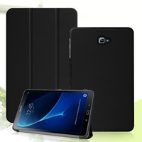 Phone Case For Samsung Galaxy Tab A 10 1 T580 T585 2016 Tri Fold Stand Leather