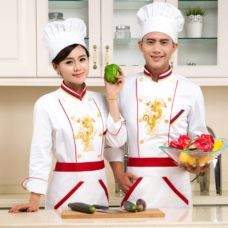 2016 New Design Chef Jacket Long Sleeve Food Service Summer Hotel Uniform Embroidery Clothing In Jackets From Novelty Special Use On