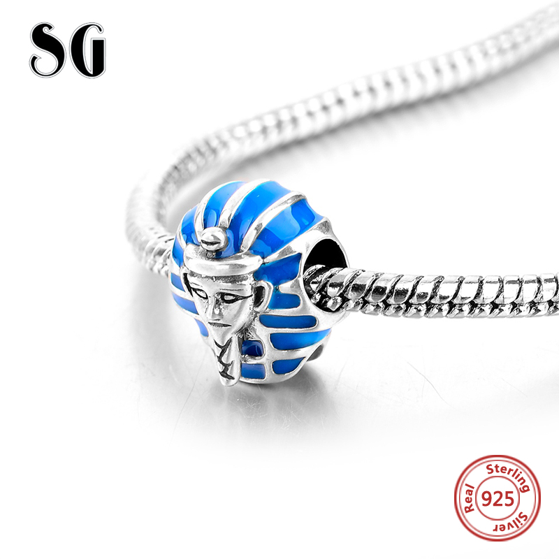 2018 NEW Arrival 925 Original Sphinx shape Fit pandora Charms Bracelets Antique Beads sterling-silver-Jewelry Gifts for women