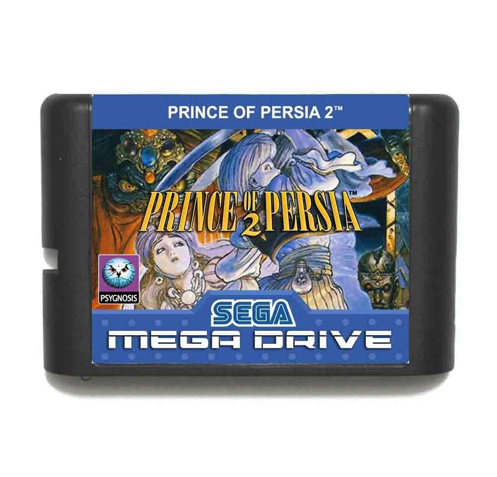 Prince of Persia 2 MD 16 bit Game Card For Sega Mega Drive For Genesis