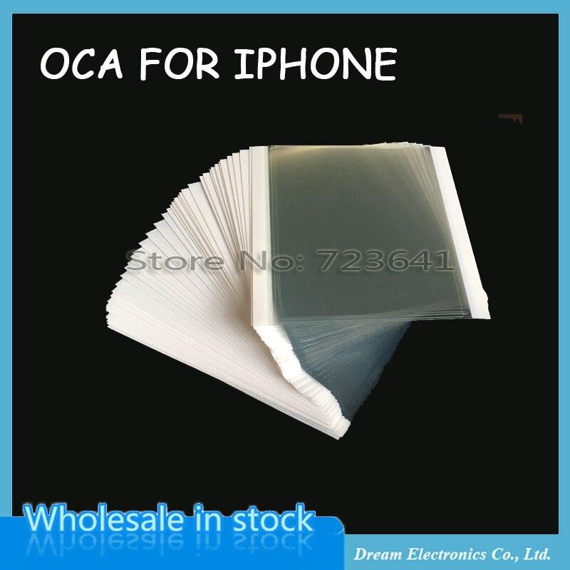 imágenes para 50 unids/lote 250um OCA Optical Adhesive Clear para el iphone 6 6 S plus 7 más el Pegamento OCA para el iphone 5 5C 5S Táctil LCD Lente de Cristal película