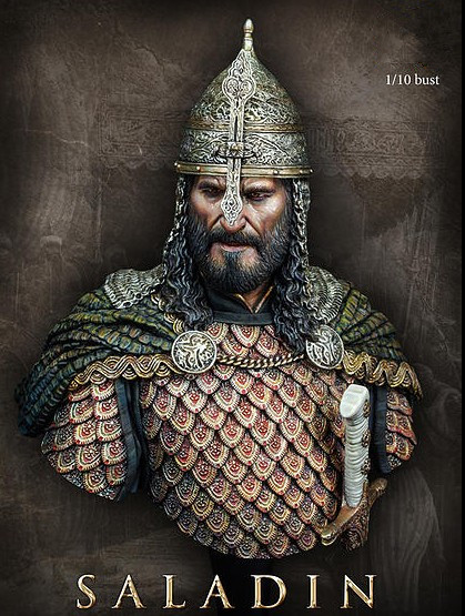 Buy 110 Scale Figure Resin Bust Saladin Model Kit Free Shipping From Reliable