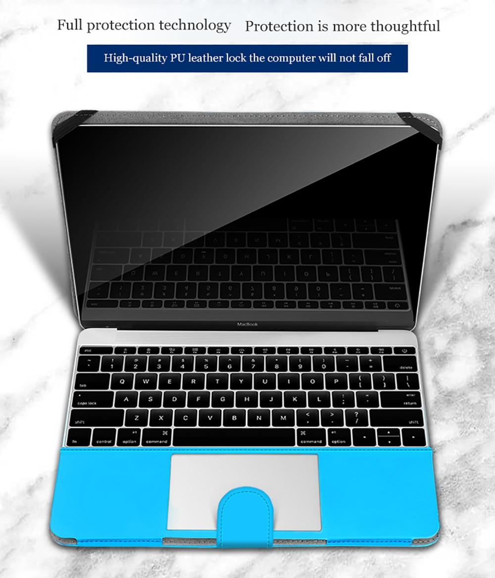 Shell Cover Laptop Case For Macbook Air 13 Pro Retina 11 12 13 15 - ლეპტოპის აქსესუარები - ფოტო 6