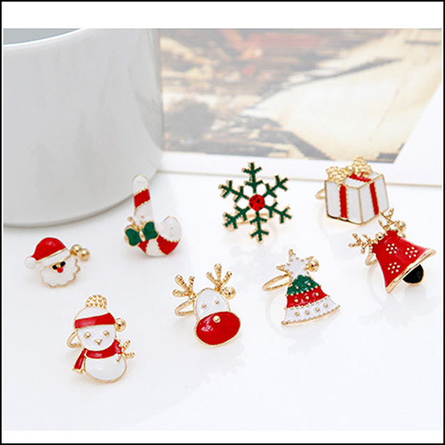 Oorbellen voor kerst