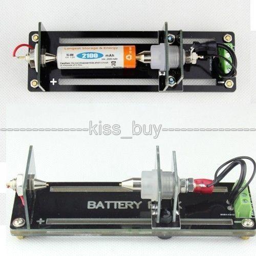 Fios de Teste Stand Suporte de Bateria para 26650,18650, AA, AAA, baterias botão Bateria 5A