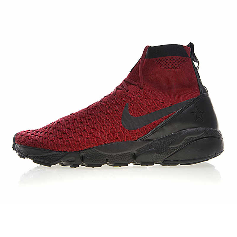 3ce92e18ab ... Original NIKE AIR FOOTSCAPE MAGISTA FLYKNIT FC Men s Running Shoes