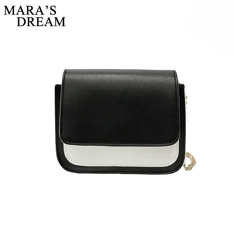 Mara's Dream Casual Small Messenger Bags New Women Handbag PU Leather Patchwork Color Clutch Ladies Party Purse Shoulder Bag runmade for vw 2010 2011 2012 tiguan clear lens bumper fog driving light left side 5nd 941 699
