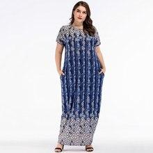 577c0ad19 Muslim Abaya Short Sleeve Maxi Dress Cardigan Loose Plus Size Kimono Long  Robes Jubah Moroccan Middle East Arab Islamic Clothing