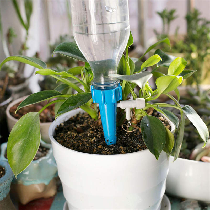Plant Water Funnel Flower Drip Spikes Automatically 12 Pcs