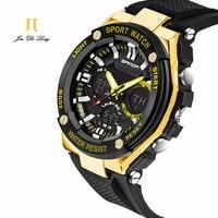 Fashion Sport Super Cool Men S Quartz Digital Watch Men Sports Watches SANDA Luxury Brand LED