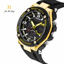 Sport Super Cool Men's Quartz Digital Watch Men Sports Watches SANDA Luxury Brand LED Military Waterproof Wristwatches