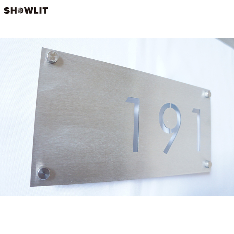 Rectangular Address Plaque 6*12 for three numbersRectangular Address Plaque 6*12 for three numbers