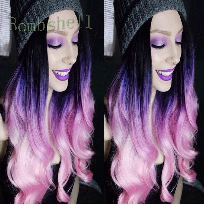 Phenomenal Black Purple Hairstyles Promotion Shop For Promotional Black Hairstyles For Women Draintrainus