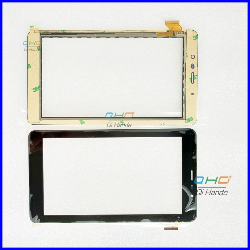 Black New touch screen Digitizer For 7 inch teXet TM-7058 X-pad STYLE 7.1 3G Tablet Touch panel Glass Sensor Replacement new 7 inch for texet tm 7058 x pad style 7 1 3g touch screen touch panel digitizer glass sensor replacement