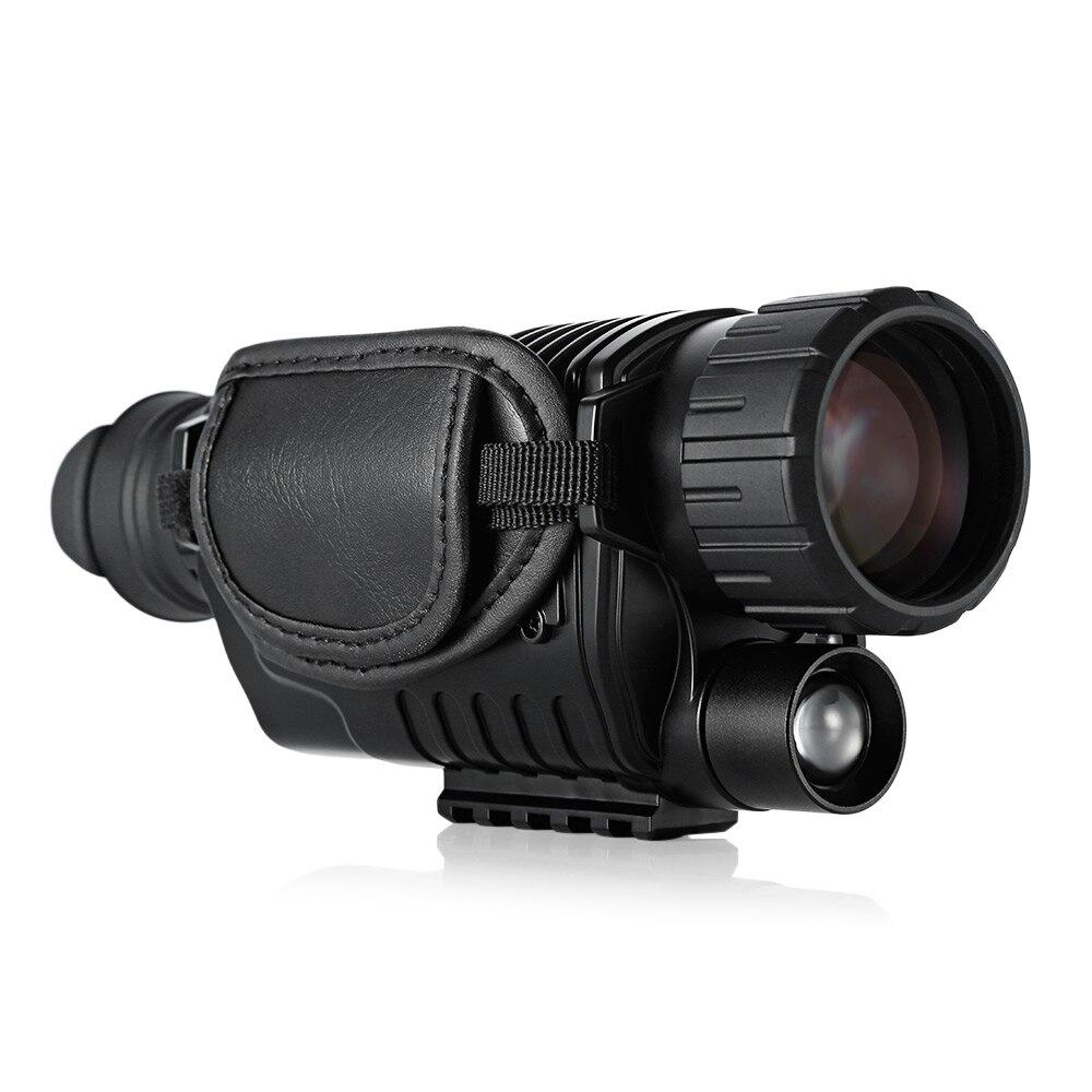 e5b9306a69fb4 SUNCORE 5X40 binóculos de visão noturna 200 M de Visão Noturna infravermelha  Monocular caça goggles Câmera caça de visão noturna noite nova em  Telescópio ...