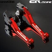 Motorcycle brakes Motorcycle Brake Clutch Levers FOR HONDA CR250R 2004 2005 2006 2007 CR 250R 2004 2005 2006 2007 цены онлайн