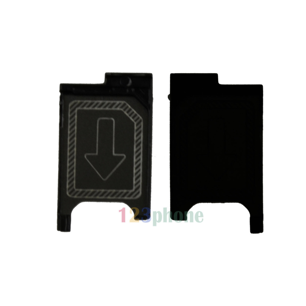 SIM SLOT TRAY HOLDER FOR SONY XPERIA Z3 / Z3 COMPACT & MINI D6603 D6653 D5833 ...