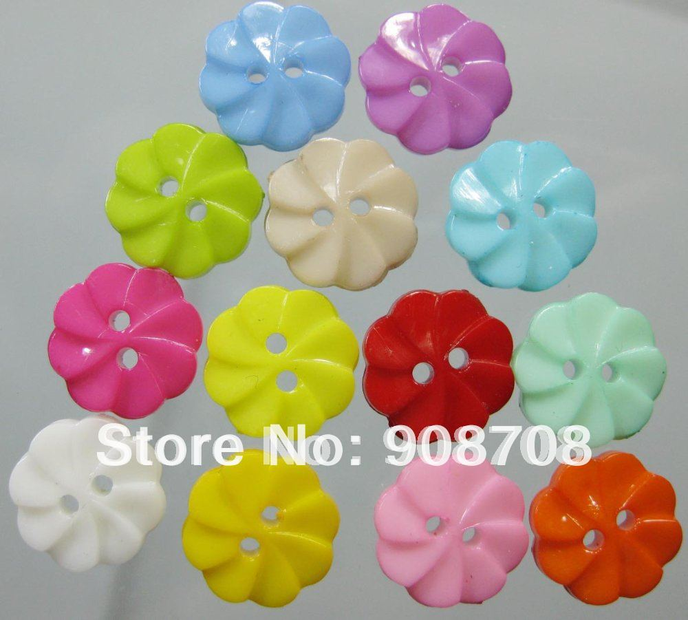 <font><b>H002</b></font> 200PCS windmill shirt resin button for KIDS clothes accessory jewelry charms Free shipping image