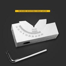 Gauge Adjustable Angle Gauge Precision Angle Pad 0-60 Degree Angle Plate Block