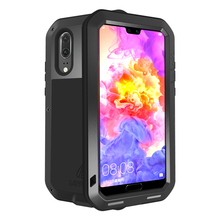 Waterproof Cover for Huawei P20 P 20 Case Aluminum Metal Shockproof For Pro Heavy Duty Protection P20+