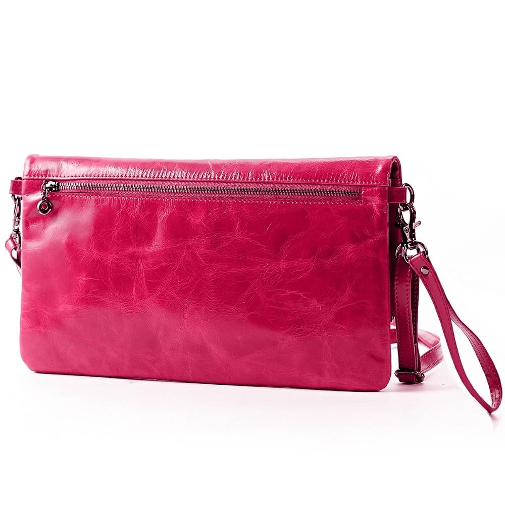 Lecxci bolsos de lujo para mujer cuero genuino Aceite de cera - Bolsos - foto 2