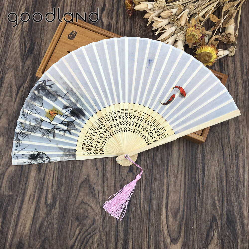 Free shipping 50pcs vintage fancy dress costume chinese costume 100 free shipping 50pcs vintage fancy dress costume chinese costume 100 silk bamboo poem lotus flower pattern abanicos para boda in decorative fans from home izmirmasajfo