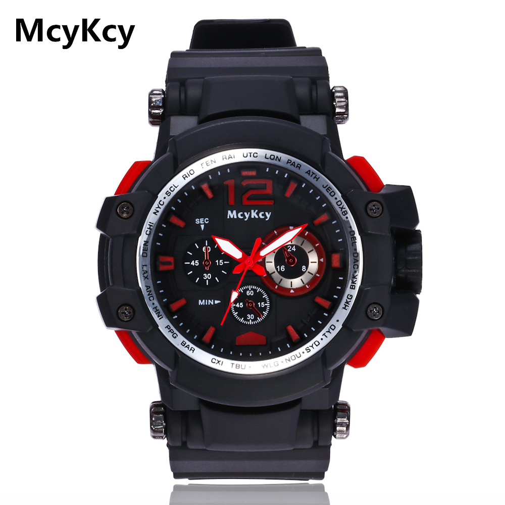 NEW Military Watch Shock Resitant Sport Watches saat Digital Clock Men Military Army Big Men Watch Sport relogio masculino 2018