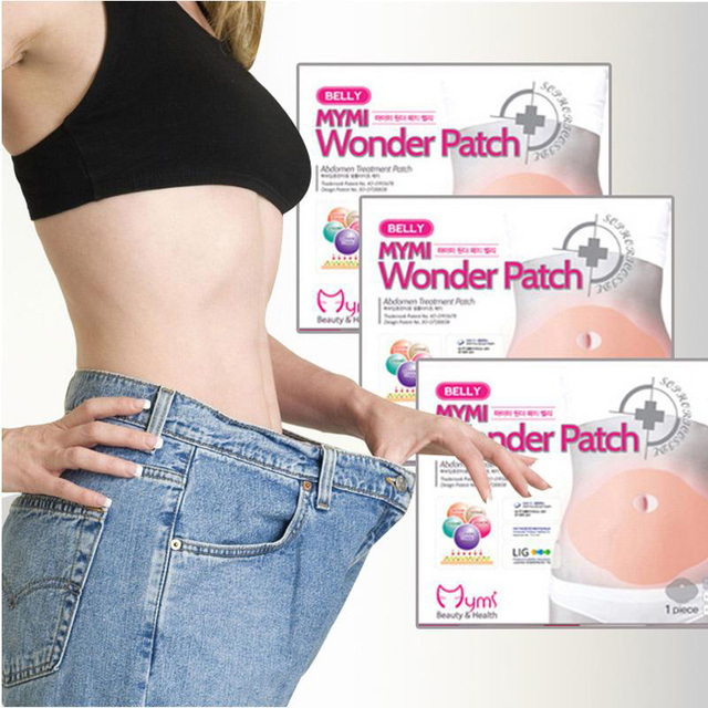 10 Pcs Mymi Wonder Patch Quick Slimming Patch Belly Slim Patch Abdomen Slimming Fat Burning Navel Stick Weight Loss Slimer Tool 2