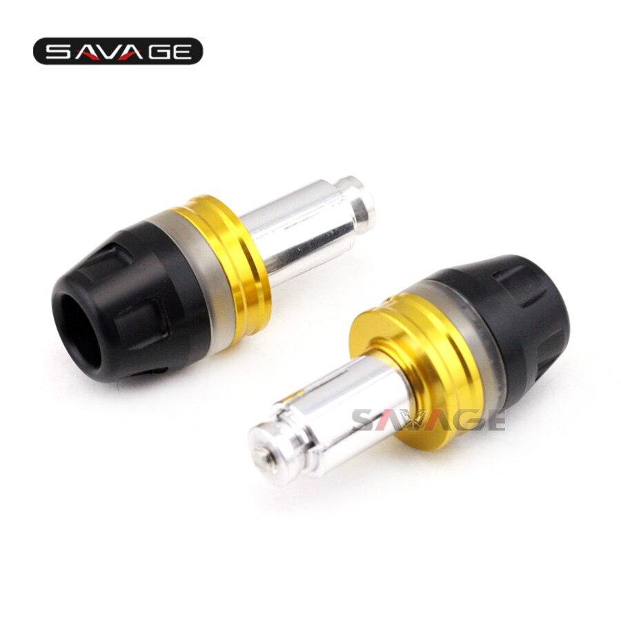 FOR DUCATI 696/796/797/821/1100 MONSTER Motorcycle CNC Aluminum Bar End Caps <font><b>Handlebar</b></font> Grips Slider Plugs Motor Bike Accessories